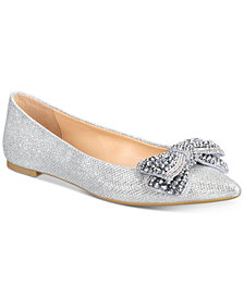 Jewel Badgley Mischka Zanna Evening Flats