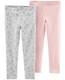 Carter's Toddler Girls 2-Pack Leggings