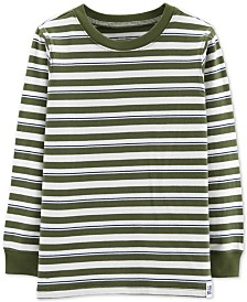 Carter's Little & Big Boys Striped Cotton T-Shirt