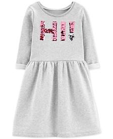 Carter's Little & Big Girls Hi Sequin Dress