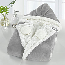 Chic Home Nava 51x71 Hooded Snuggle