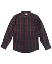 dfb89bd91 LRG Men's Otero Plaid Shirt