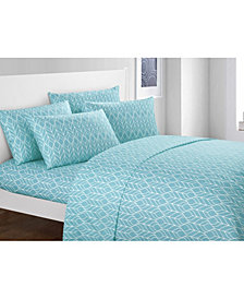 Chic Home Fallen Leaf 6-Pc King Sheet Set