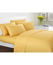 Chic Home Fallen Leaf 6-Pc Queen Sheet Set