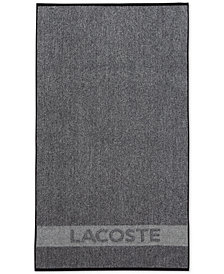 "Lacoste Heathered Cotton 30"" x 52"" Bath Towel"