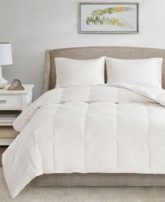 All Season Warmth Twin Oversized 100% Cotton Down Comforter
