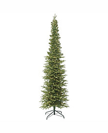Vickerman 7.5' Bixley Pencil Fir Artificial Christmas Tree