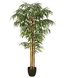 Vickerman 6' Artificial Green Bamboo Tree