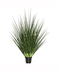 """24"""" Artificial Potted Extra Full Green Grass X 205"""