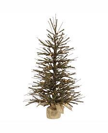 Vickerman 48 inch Vienna Twig Artificial Christmas Tree