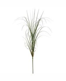 "36"" Pvc Artificial Green Curled Grass Spray X 42"