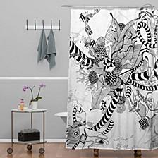 Iveta Abolina Coral Shower Curtain