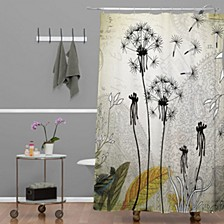 Iveta Abolina Purple Rain Shower Curtain