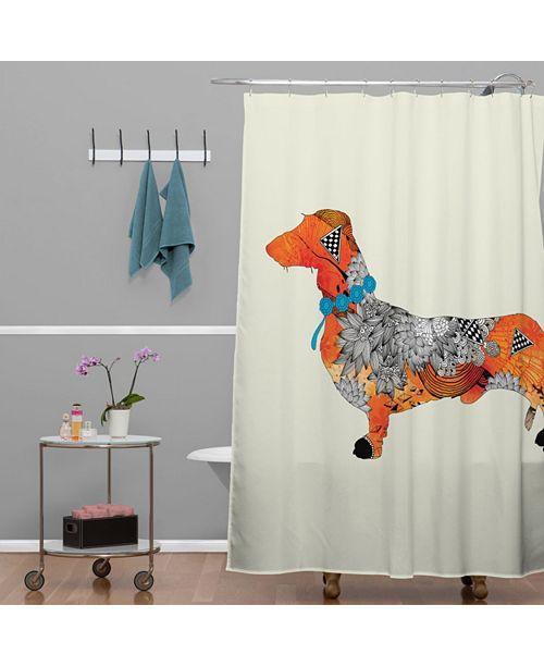 Deny Designs Iveta Abolina Brown Lab Shower Curtain