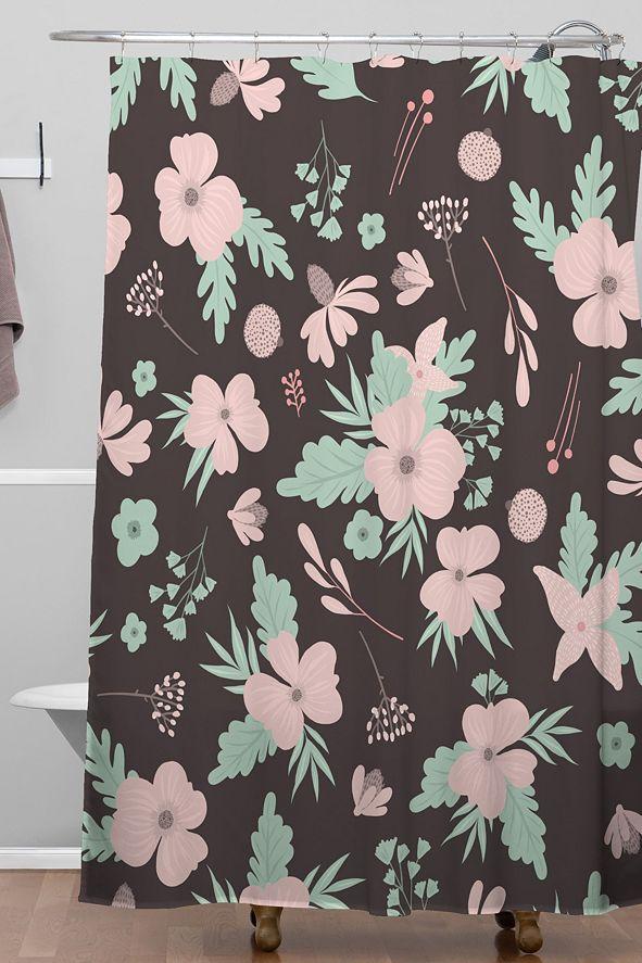Deny Designs Iveta Abolina Eleanor Garden Shower Curtain