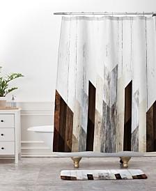 Deny Designs Iveta Abolina Native Blue Arrows Bath Mat