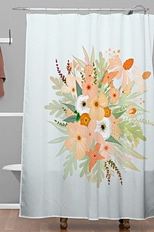 Iveta Abolina Ada Garden III Shower Curtain
