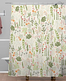 Iveta Abolina Floral Goodness IV Shower Curtain