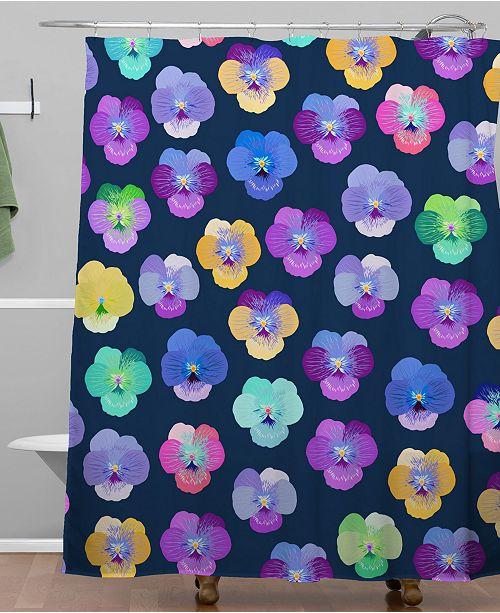 Deny Designs Iveta Abolina Moselle Night Shower Curtain