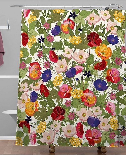 Iveta Abolina Rosamonde Shower Curtain