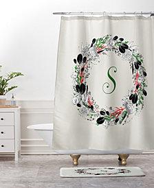 Deny Designs Iveta Abolina Silver Dove Christmas V Bath Mat