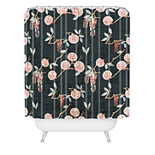Deny Designs Holli Zollinger Floralista Shower Curtain