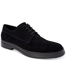 Men's Rickie Plain-Toe Suede Oxfords