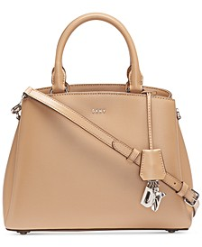 Paige Leather Medium Satchel, Created for Macy's