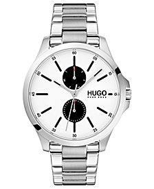 HUGO Men's #Jump Stainless Steel Bracelet Watch  41mm