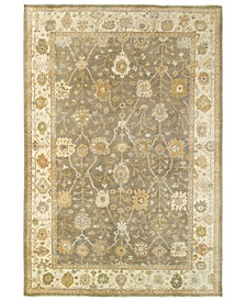 Palace 10302 Brown/Beige 6' x 9' Area Rug