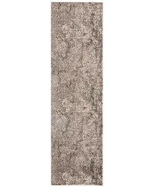 "kathy ireland Home KI35 Heritage KI352 Gray 2'2"" x 7'6"" Runner Area Rug"