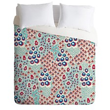 Deny Designs Holli Zollinger Liberty Natural King Duvet Set