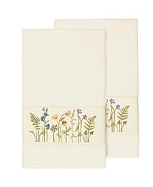Serenity 2-Pc. Embellished Bath Towel Set