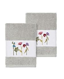 Serenity 2-Pc. Embellished Washcloth Set
