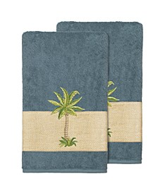 Colton 2-Pc. Embellished Bath Towel Set
