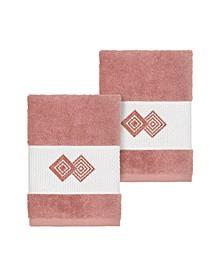 Noah 2-Pc. Embellished Washcloth Set