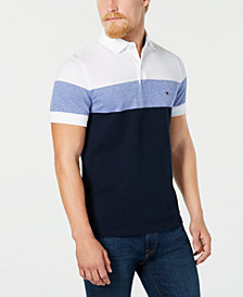 Tommy Hilfiger Dylan Men's Custom Fit Striped Polo, Created for Macy's
