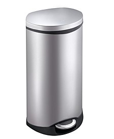Shell 50L Semi-Round Step Trash Can