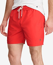 "Polo Ralph Lauren Men's 5 ¾"" Traveler Swim Trunks"