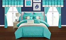 Vixen 24-Pc Queen Comforter Set