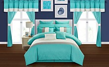 Chic Home Vixen 24-Pc. Comforter Sets