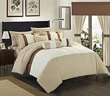 Mackenzie 20-Pc King Comforter Set
