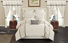 Mayan 24-Pc Queen Comforter Set