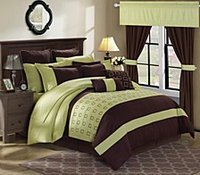 Lorde 25-Pc King Comforter Set