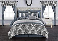 Chic Home Vivaldi 20-Pc Queen Comforter Set