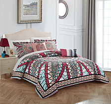 Chic Home Michal 5-Pc Queen Comforter Set