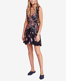 Free People Marnie Printed Mini Dress
