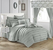 Hailee 24-Pc Queen Comforter Set