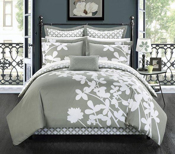 Chic Home Iris 11-Pc King Comforter Set