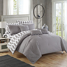 Chic Home Holland 10-Pc Queen Comforter Set